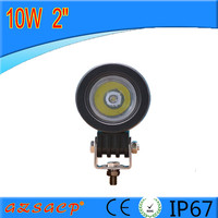 factory direct round design 10w led work light for all cars