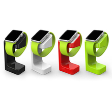 From china import cheap plastic material watch holder for apple watch stand