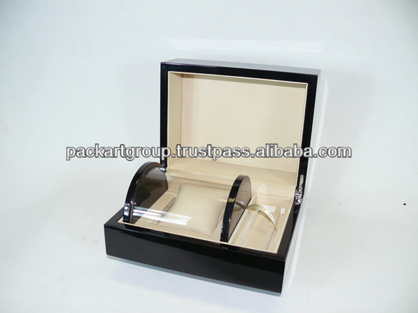 High Glossy Unique Design Wooden Watch Box