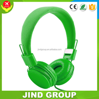 Model JIND- 500A cheapest braided wire folding headset