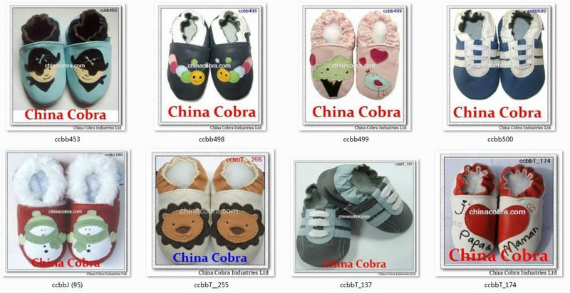 2018 CHINA COBRA amazon ebay best selling high quality cow leather soft sole leather baby shoes baby moccasins CHINA COBRA