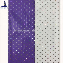 decorative panel film hot stamping foil for pvc ceiling stretch laser film