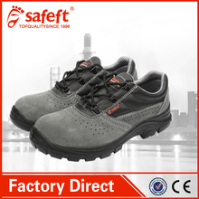 Suede leather steel toe high quality safety men work shoes/construction shoe PPE