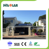 High efficiency solar system and solar panel kit system 300w