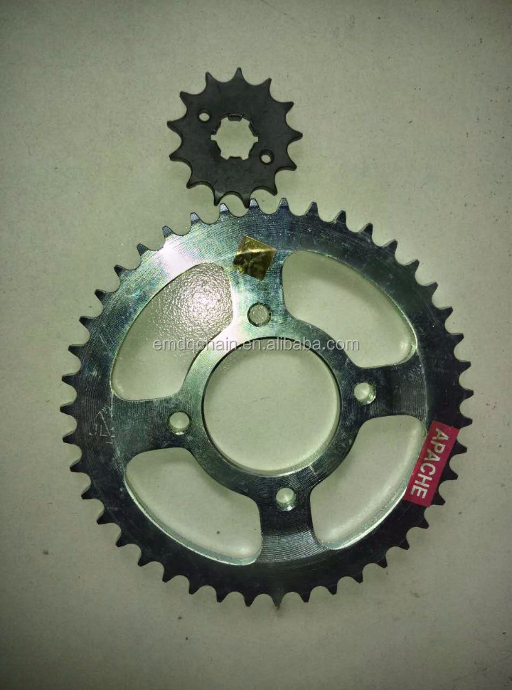 India model APACHE 43-13T 428-118L Chain Sprocket Kits Motorcycle Parts