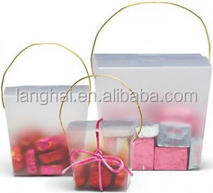 In stock paper perfume packaging box