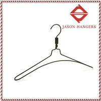 MB501 Fashion black electrical wire hangers