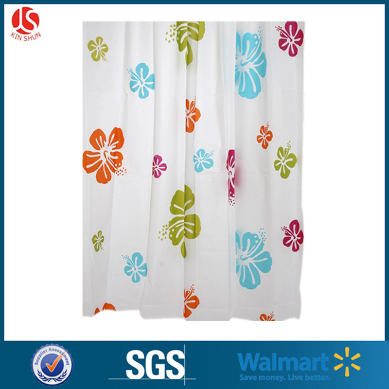 Creative cute cartoon design shower plastic curtain for baby