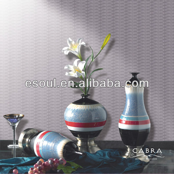 New style engineering decoration vinyl wall paper