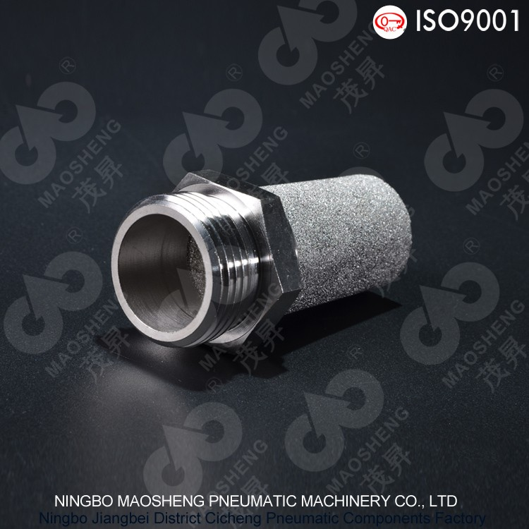 SSM Type Sintered Stainless Steel Muffler Microporous Air Sparger