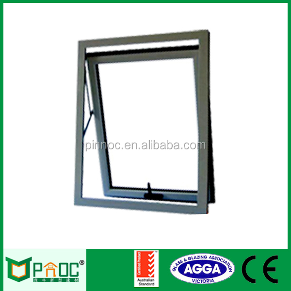 Aluminium Awning Windows,top hung window AS2047/AS2208 Certificates