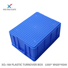 Factory direct selling stackable mesh plastic crate logistics containers logistic container