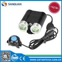 SANGUAN SG-N2200 T6 led dirt bike helmet lights
