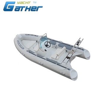 Gather New Style PVC Competitive Price inflatable boats dinghy rib