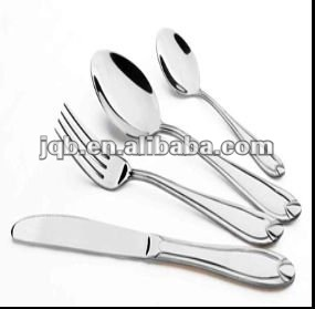 customized high quality stainless steel food cutlery