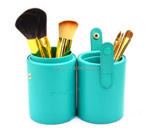 Green Portable Packaging Makeup Brush For Gifts