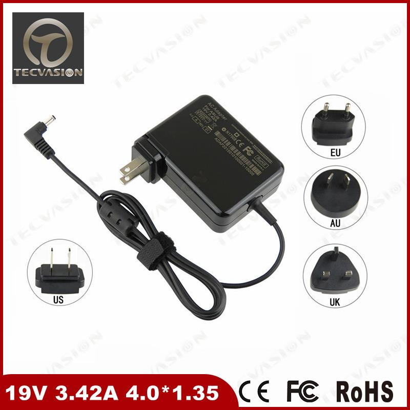 shenzhen charger manufacturer supply laptop ac adapter for asus 19v 3.42a 65w power