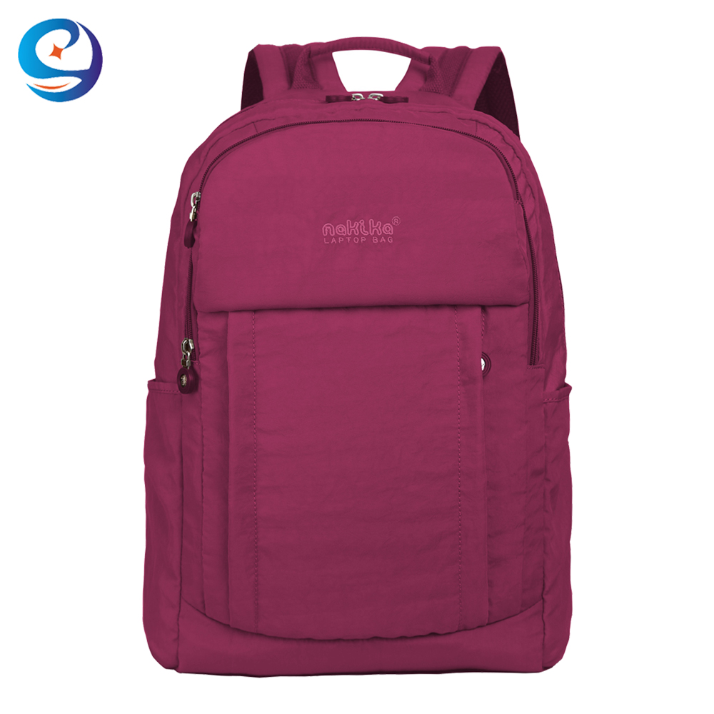 Water proof lightweight competitive prices nylon school bags for middle college students