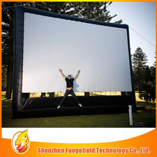 Enjoyable Beautiful movie screen High Quality inflatable cinema screen customized