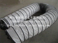 pvc flexible exhuast duct with wire/air conditioning pvc duct
