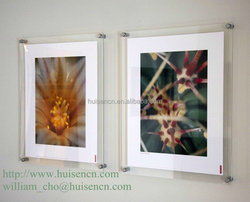 Wall mounted acrylic photo frames for 2015