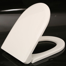 european decorative family fancy top fix d shape lavatory wc lid toilet seat