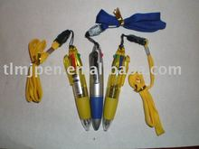 Chinese school stationery supplies gifts beautiful ball pen with rope