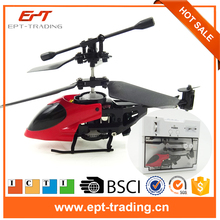 Mini RC Helicopter Shatter Resistant 2.5CH Flight RC helicoptero Drones Toys with Gyro System With Light