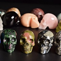 Hot Wholesale Mant Types Carved Skull