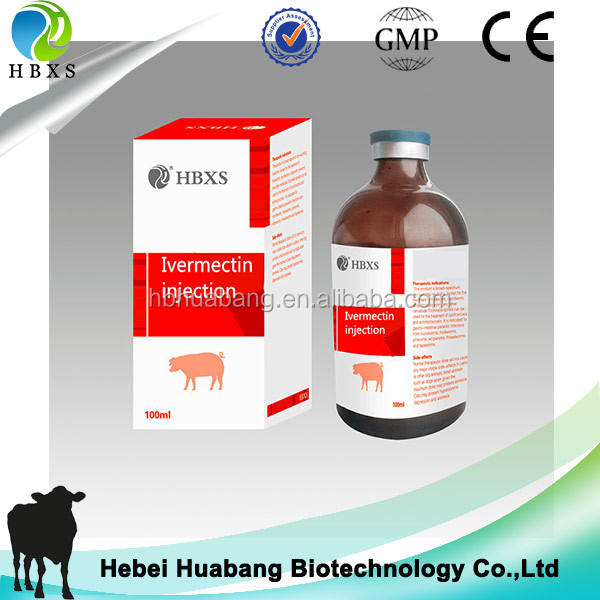 100ml Ivermectin Injection+veterinary Needle Worms Dogs Treatment