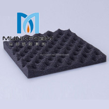 Customized studio soundproof foam ventilation ducts wedge sound proof foam for cancel sound with high quality