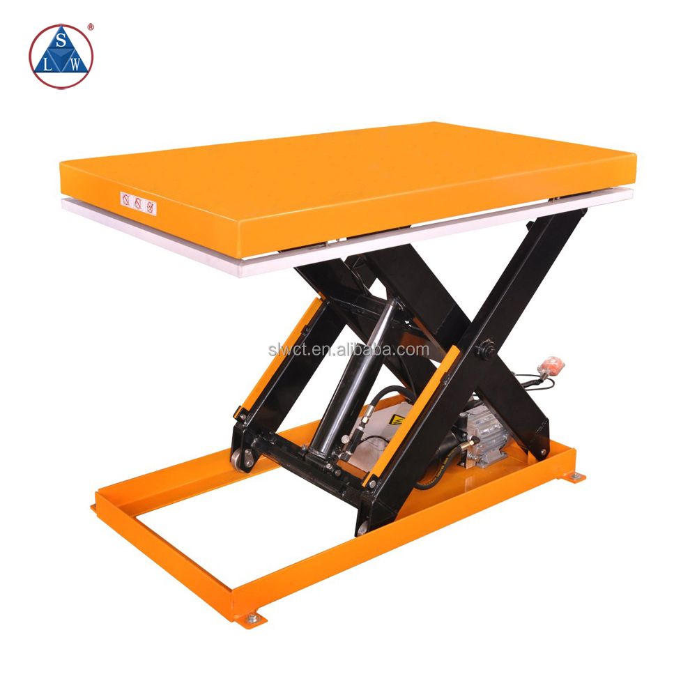AC Powered 5 ton Central Hydraulics Scissor Lift 1m
