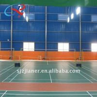 PVC Indoor/outdoor badminton court flooring
