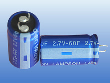 2.7V Cylindrical Super Capacitor; Ultra Electrolyte Capacitor; 60F Capacitor