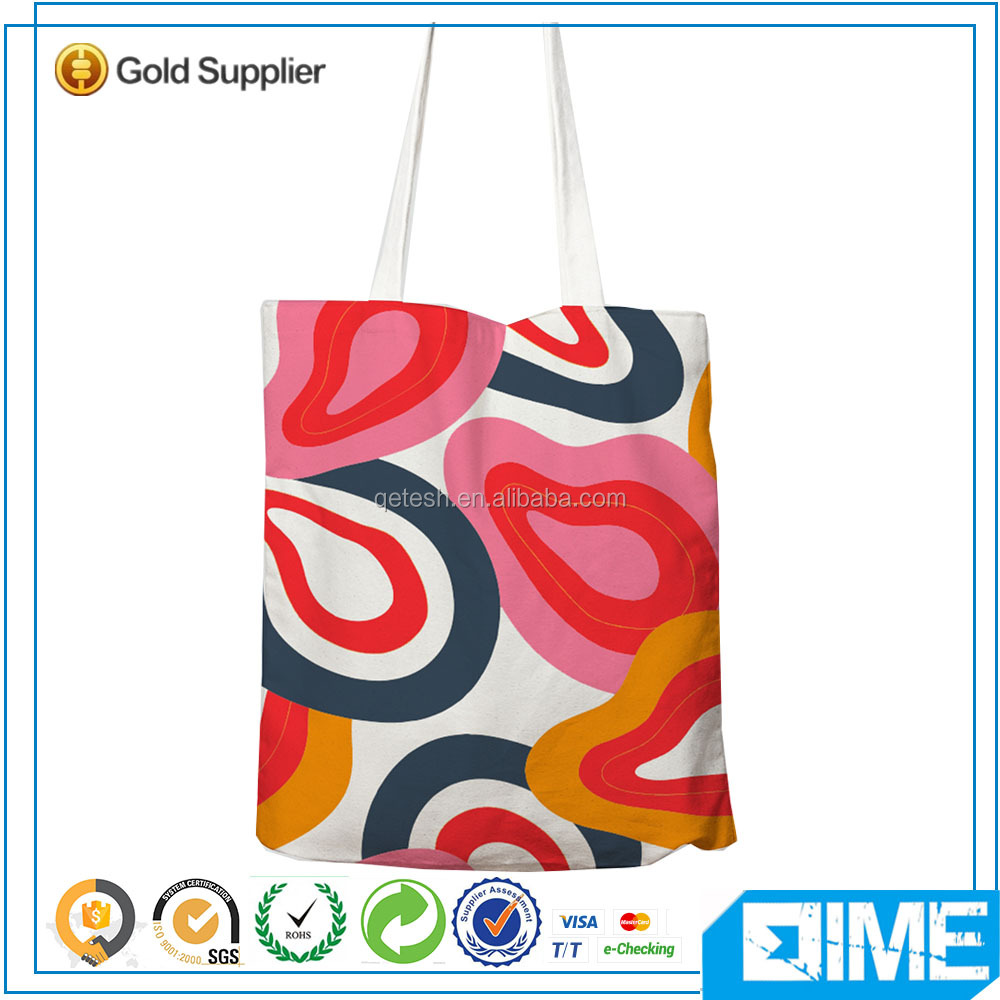 Hot selling customized fancy canvas bag