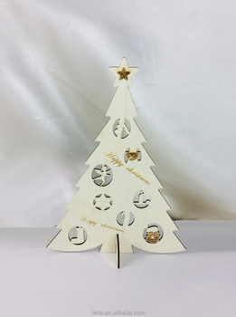 Christmas gifts&crafts decoration products small wood tree