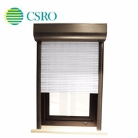 Anti-theft exterior electric high-end customized vertical roller shutter windows
