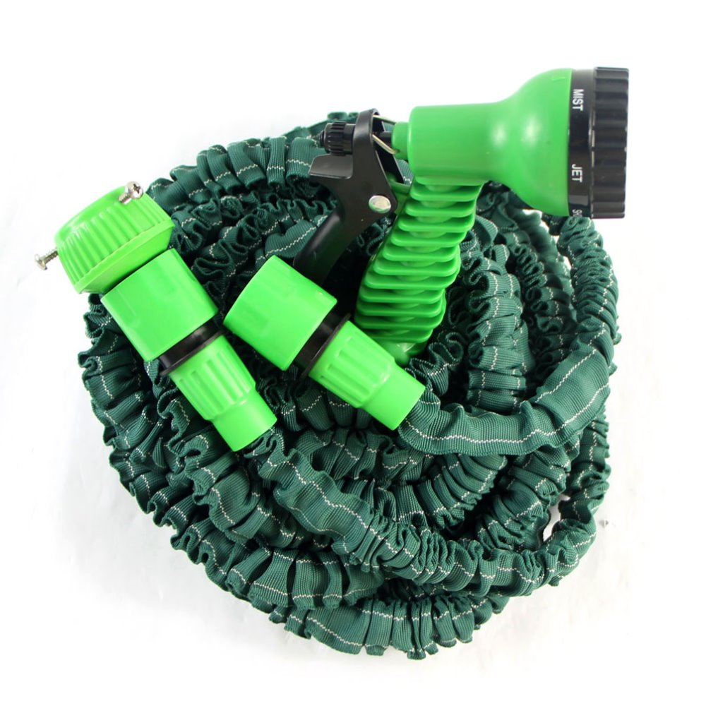 25ft/50ft/75ft/100FT best garden tool set / expandable garden hose with spray nozzle