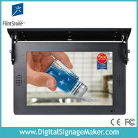 "car/bus used 19"" usb flash drive lcd digital signage display"