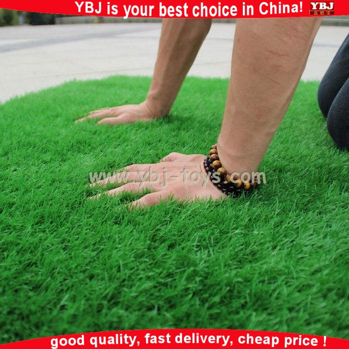 Guangzhou YBJ cheap artificial football fake grass carpet