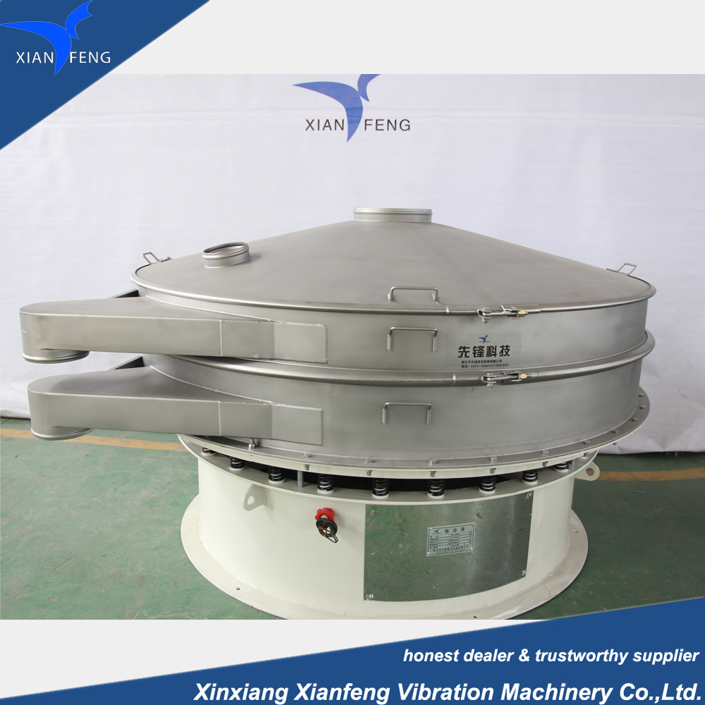 XF Series stainless steel hot sale Rotary type metal powder vibrating separator