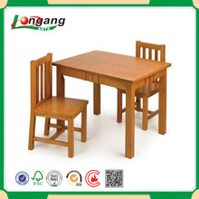 wholesale wood small dining table set for couples