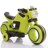 three wheels with battery powered fashionable children ride on car wheels electric bike