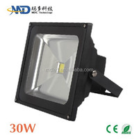 COB 30W led flood light Epistar/Bridgelux led IP65 Waterproof 90-260v 12V 3 years warranty led flood light 70w