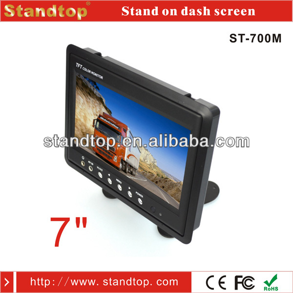 7 inch Pillow TFT Car Back Seat LCD Monitor FOR Travel Bus