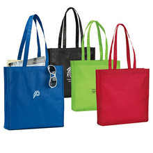 Promotion new brand fashion foldable non woven shopping tote bag