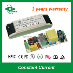 3 years warranty constant current 72w 1500mA non-waterproof led driver