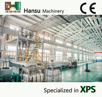 CE approved XPS polystyrene production line extrusion line /xps foam board production line/xps extruder