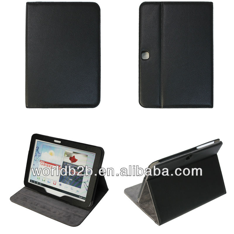 hot new pu leather case for samsung galaxy tab 3 10.1 P5200/P5210
