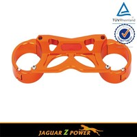 CNC Machined Anodized Upper Motorcycle Triple Clamp For KTM SX SXF